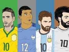 Deretan Pemain Mahal di Piala Dunia 2018