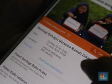 Baznas: Milenial Hobi Zakat dan Beramal via Aplikasi Digital