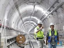 Hampir Selesai, Ini Dia Penampakan Proyek MRT Jakarta
