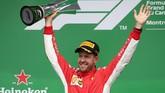 Juara GP Kanada, Vettel Kembali Pimpin Klasemen F1 2018