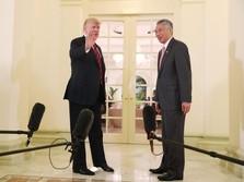 Bertemu PM Singapura, Trump Ungkapkan Terima Kasihnya