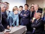 Trump Serang PM Jepang, Perancis dan Bos UE di Pertemuan G7