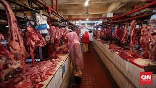 Harga Daging Sapi Meroket Hingga Rp180 Ribu per Kg