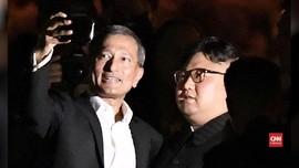 VIDEO: Tur Keliling Singapura, Kim Jong-un Kejutkan Wisatawan