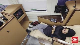 FOTO: Mengintip Fasilitas Mewah Kereta Sleeper Class