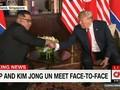 VIDEO: Bersama Trump,  Konferensi Pers Perdana Kim Jong-un