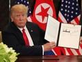 Dokumen: Trump dan Kim Sepakat Denuklirisasi Utuh
