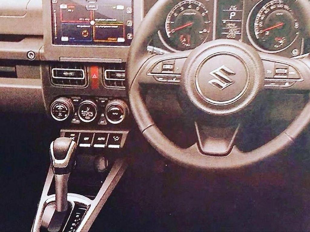 Bocoran interior Suzuki Jimny terbaru. Foto: Carscoops