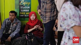 Gambir Tak Layani Kereta Jarak Jauh Mulai 2021