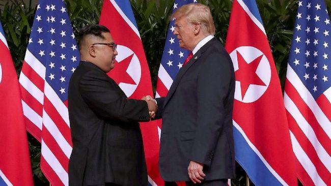 Terima Surat Kim Jong Un, Trump Singgung Peluang Bertemu
