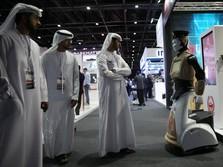 Foto: Di Dubai Robot Sudah Jadi Polisi