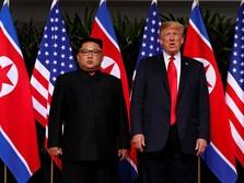 Rentetan Peristiwa Hingga Trump dan Kim Bertemu Hari Ini