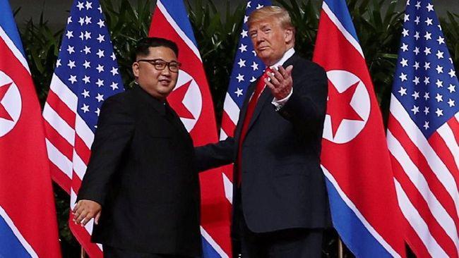 Jelang KTT, Trump dan Kim Jong-un Akan Makan Malam Bersama