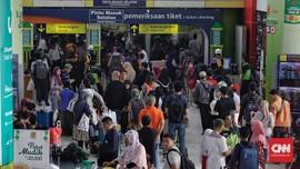 Arus Balik H+2, 20 Ribu Pemudik Tiba di Stasiun Gambir