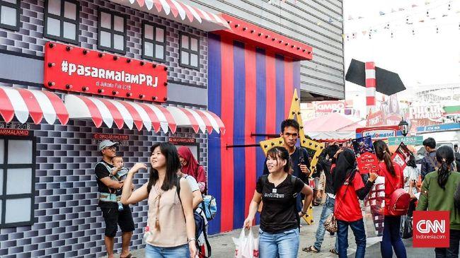 Berharap Berkah Lebaran dari Gelaran Pekan Raya Jakarta