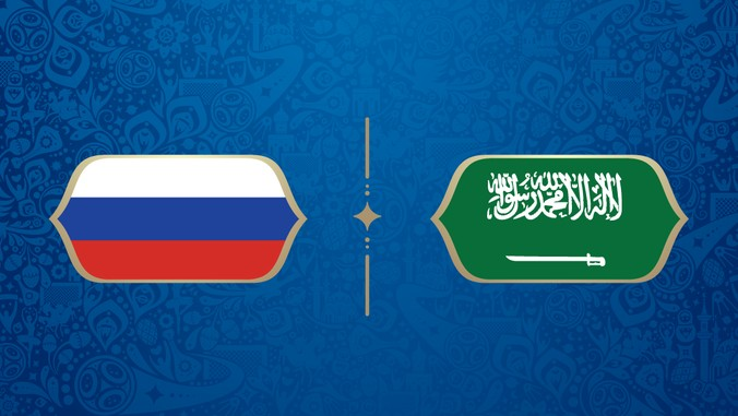 LIVE: Rusia vs Arab Saudi di Piala Dunia 2018