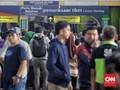 Hari Ini Diprediksi Jadi Puncak Arus Mudik Stasiun Gambir