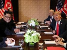 Ini Menu Makan Siang Trump & Kim di Singapura
