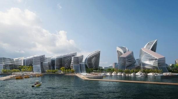 Desain Pelabuhan Terbesar di Rusia Ini Bikin Takjub