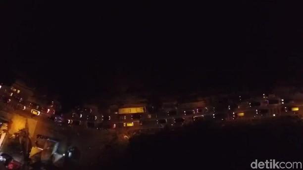 Foto dari Langit: Macet Jalur Nagreg Dua Hari Jelang Lebaran