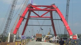 VIDEO: Jembatan Kali Kuto Hanya Dipakai Untuk Mudik