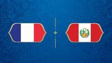 LIVE: Prancis vs Peru di Grup C Piala Dunia 2018
