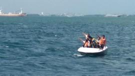 Kapal Tenggelam di Makassar karena Dihantam Angin