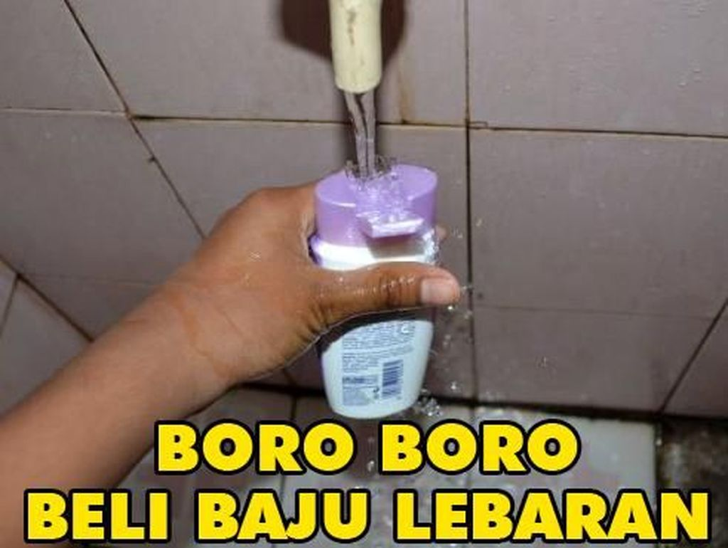 Buat beli shampo aja susah.(Foto: Internet)