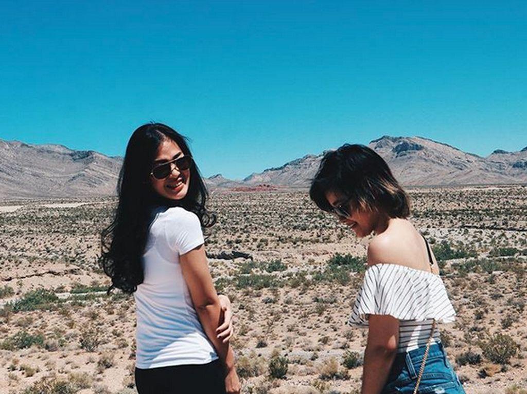 Terlebih Gisela Cindy memang lama berada di AS untuk melanjutkan studinya. Foto: Instagram Gisela Cindy