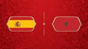 LIVE: Spanyol vs Maroko