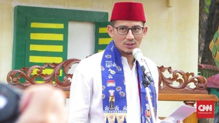 Sandiaga Nikmati Jakarta Tanpa Macet Jelang Lebaran