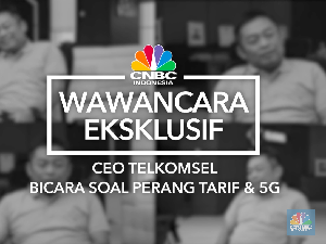 VIDEO: CEO Telkomsel Bicara Perang Tarif Internet & 5G