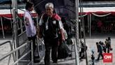 Kuota angkutan motor gratis menjadi 39.446 unit dari tahun sebelumnya sebanyak 19.148 unit sepeda motor atau naik 106 persen. (CNN Indonesia/Andry Novelino)