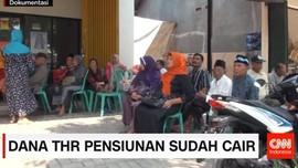Dana THR Pensiunan Sudah Cair