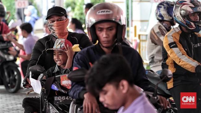 Kemenhub hanya menyediakan satu jalur pada program mudik gratis ini, yaitu dari Tanjung Priok menuju Tanjung Emas, Semarang. (CNN Indonesia/Andry Novelino)