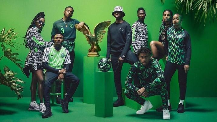 Berikut tujuh jersey paling stylish di Piala Dunia 2018.