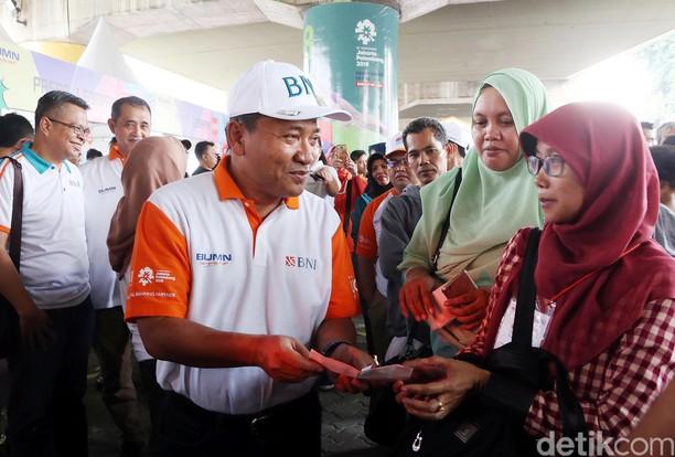 BNI Berangkatkan Ribuan Pemudik di Stasiun Gambir