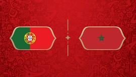 LIVE: Portugal vs Maroko di Grup B Piala Dunia 2018