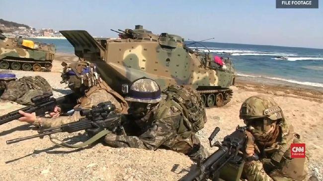 VIDEO: Hentikan Latihan Militer dengan Korsel, Trump Dikritik