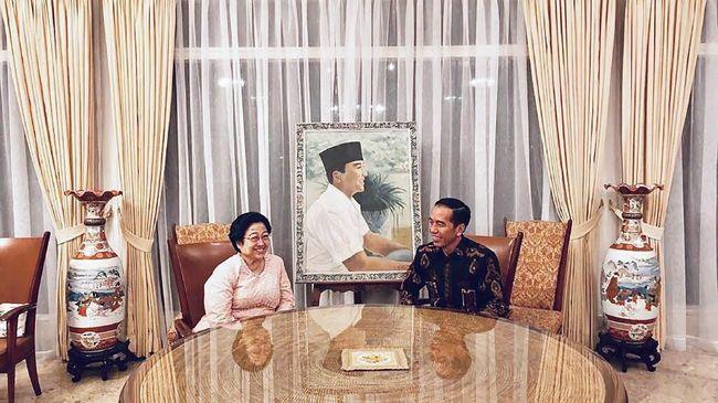 Kembali Bertemu, Jokowi-Megawati Bahas Cawapres