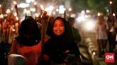 Gubernur DKI Jakarta, Anies Baswedan, juga sudah mengimbau warga untuk merayakan malam takbiran dengan damai. (CNN Indonesia/Andry Novelino)