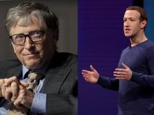 Tak Ada Barang Mewah Saat Bos Microsoft dan Facebook Bertemu