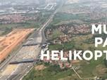 Video: Naik Helikopter, Gaya Baru Mudik Lebaran Tahun Ini