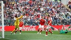 Babak Pertama: Rusia Unggul 2-0 Atas Arab Saudi