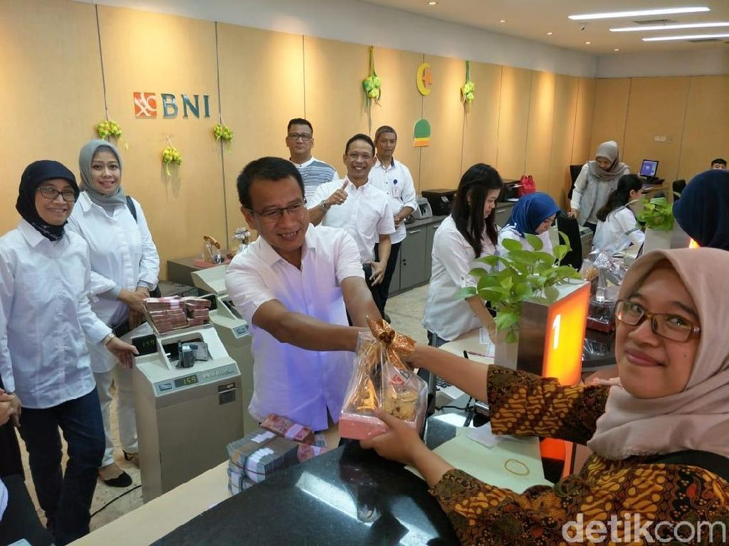 BNI Siagakan Pelayanan Transaksi Perbankan Untuk Para Pemudik