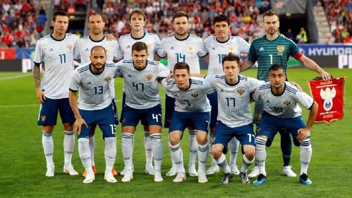 Menghitung Peluang Rusia di Piala Dunia 2018