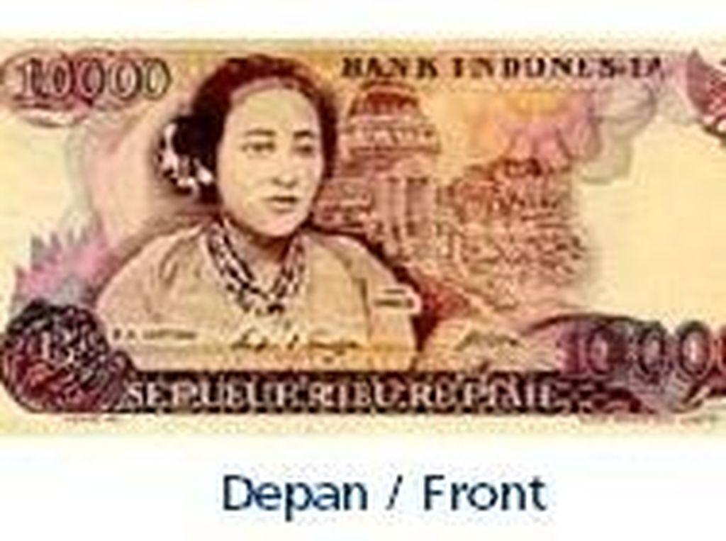 Uang kertas pecahan Rp 10.000/TE 1985. Istimewa/Dok. Bank Indonesia.