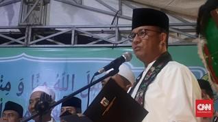 Anies Disoraki di Open House Jokowi, PKS Duga Pendukung Ahok
