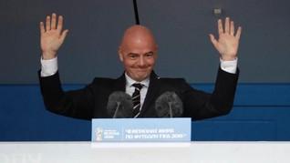 Tak Ada Lawan, Infantino Bakal Kembali Jadi Presiden FIFA
