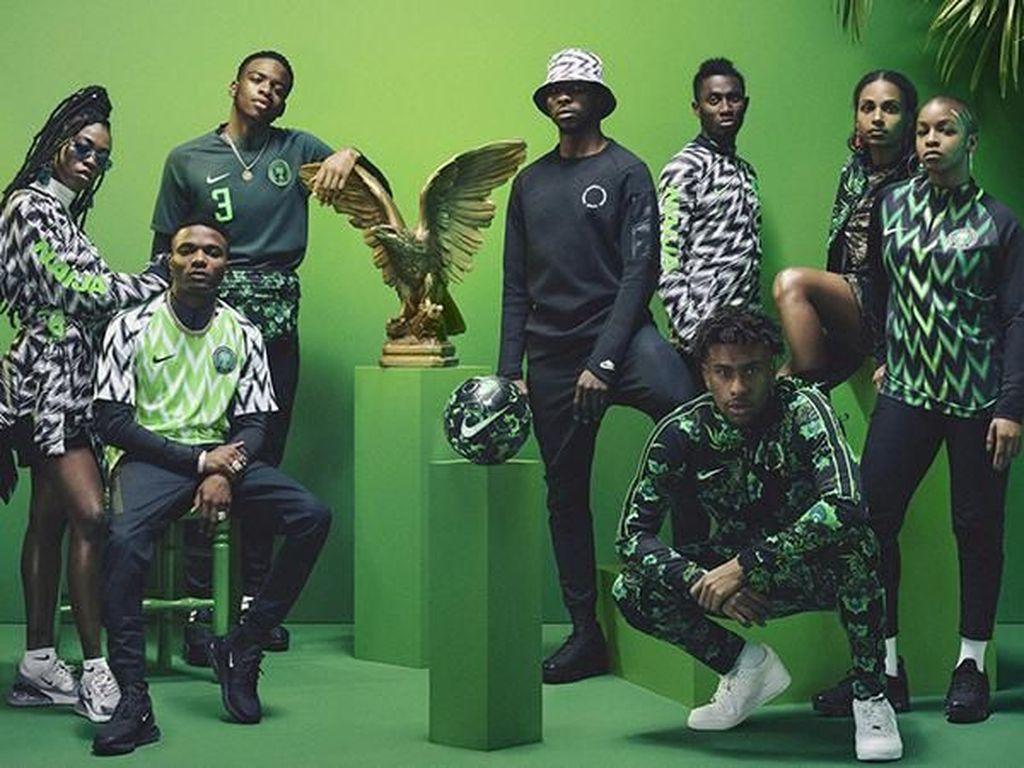 Terinspirasi Black Panther, Ini Kostum Bola Terkeren di Piala Dunia 2018